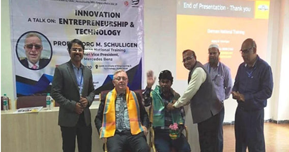 "Lecture On ""INNOVATION, ENTREPRENEURSHIP AND TECHNOLOGY"""