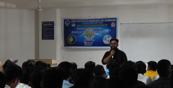 Technical Seminar on Android Application & Development