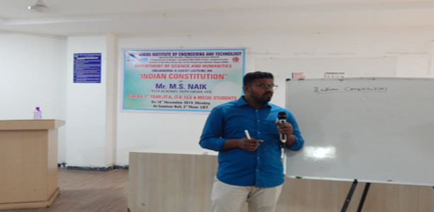 One Day  Seminar On Indian Constitution