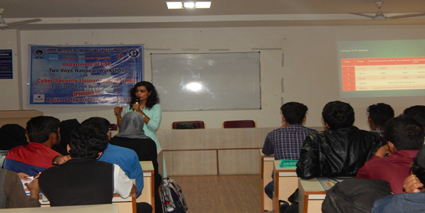 Workshop on Cyber Security using Hacking Tools