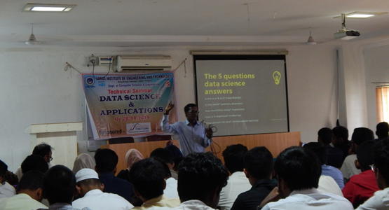 Technical Seminar on Data Science and its Applications