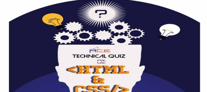A Technical quiz on HTML and CSS