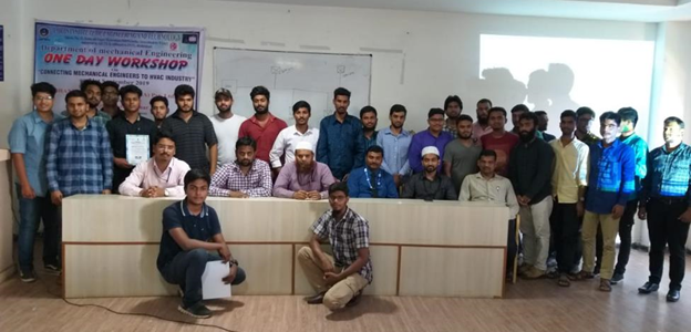One Day Workshop on Connecting Mechanical Engineers to HVAC Industries