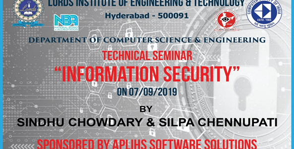 Technical Seminar on Information Security