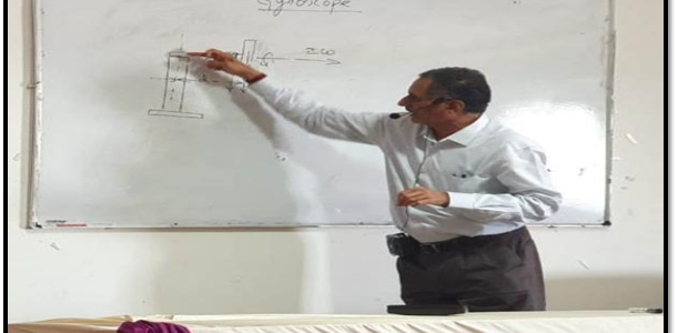 A Guest lecture on Kinematics of Machines