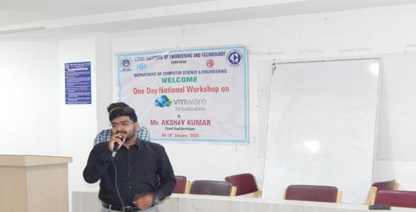 "One day workshop on ""VMware Virtualization"""