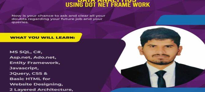 Workshop on Data Analytics using .Net Framework
