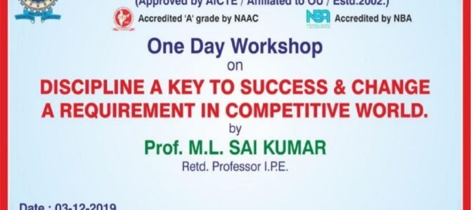 One Day Workshop-MBA