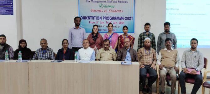Online MBA Orientation Program-2021
