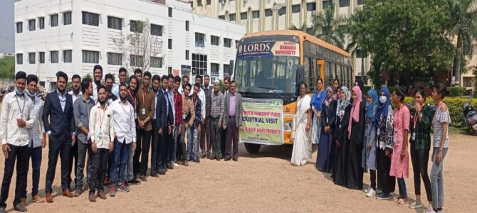 Industrial Visit to Masqati Dairy Products
