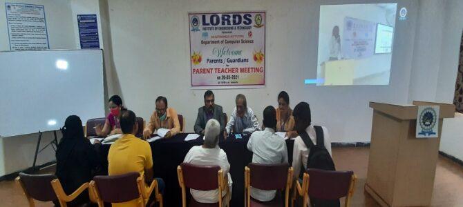 Second Year Parent Teacher Meet