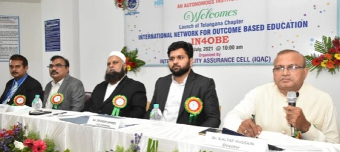 Launch of Telangana Chapter- IN4OBE