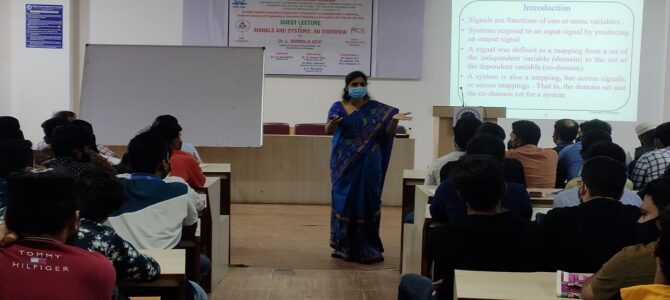Guest Lecture on Signals & Systems