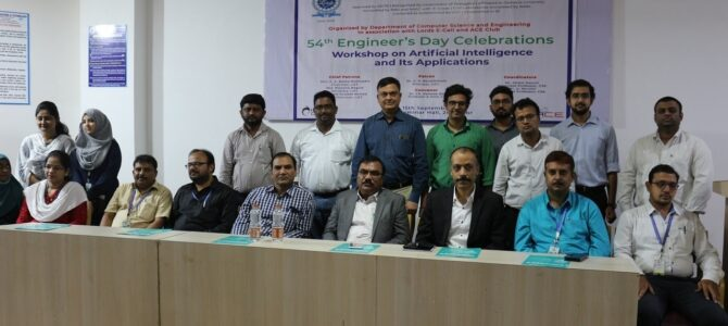 Workshop on AI and its Applications